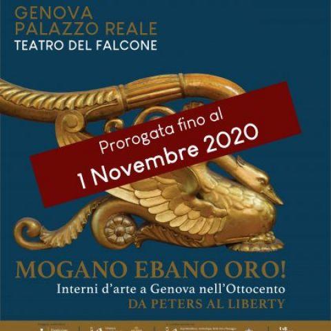 Mogano, Ebano, Oro! Interni D'arte A Genova Nell'Ottocento, Da Peters Al Liberty