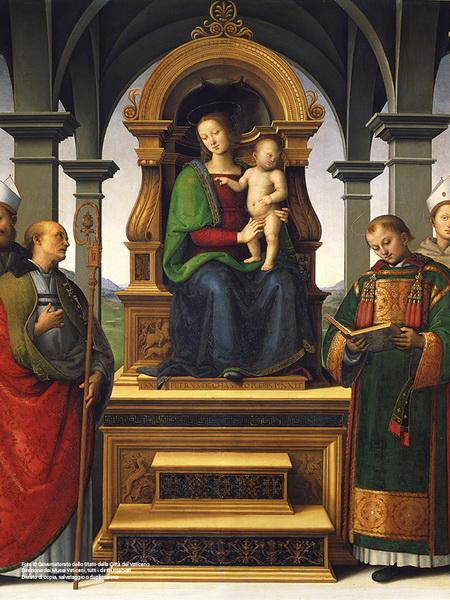 Il Ritorno Della Pala Dei Decemviri Del Perugino