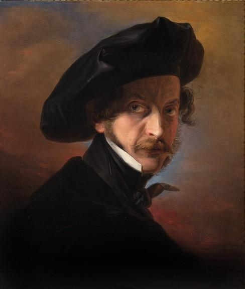 il ritratto di Massimo D'Azeglio