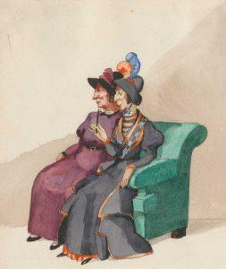 Il percorso espositivo si sviluppa attorno tre cicli di illustrazioni dedicati a capolavori della letteratura realizzati da Marongiu tra il 1926 e il 1930: la serie completa delle tavole di Sogno di una notte di mezza estate di William Shakespeare (1930), le illustrazioni de I Promessi Sposi di Alessandro Manzoni (1926) e le tavole de Il Circolo Pickwick di Charles Dickens (1929). Quest'ultimo lavoro, composto da 262 tavole realizzate a inchiostro e acquerello, costituisce il cuore della retrospettiva: in prestito dal Charles Dickens Museum di Londra è oggi, a novant'anni dalla sua realizzazione, per la prima volta visibile in un museo
