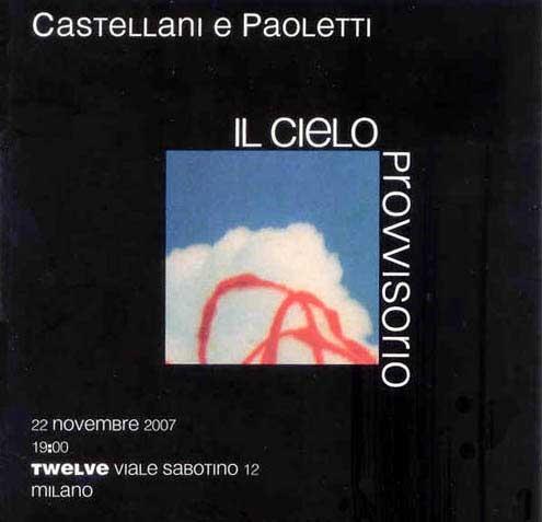 invito mostra castellani e paoletti