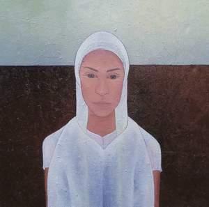 Maddalena olio su tela