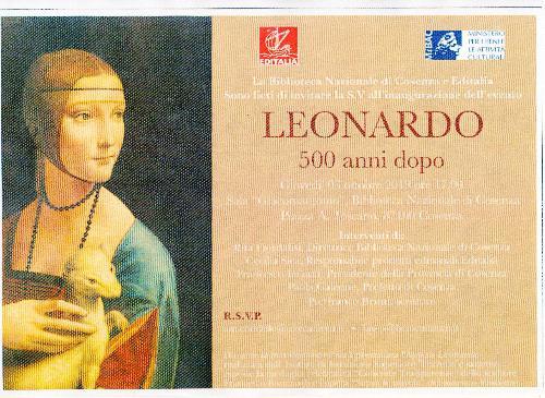 Leonardo 500 Anni Dopo