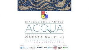 Oreste Baldini - Dialogo con l'antico - ACQUA