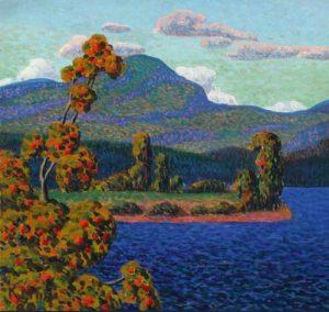 Konrad Mägi - La luce del Nord