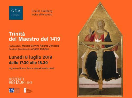 Recenti Restauri: La Trinità Del Maestro Del 1419