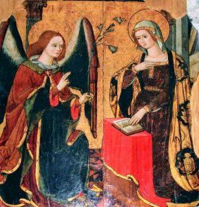 L'Annunciazione della chiesa di S. Nicola di Summonte