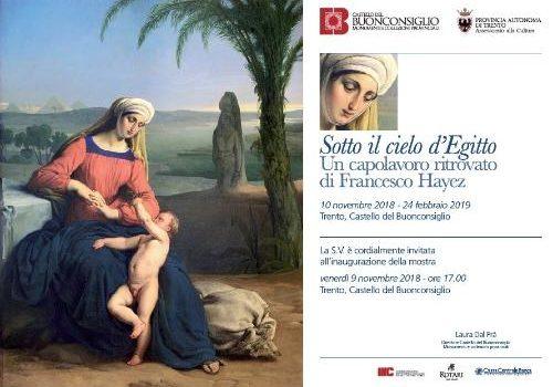 Sotto Il Cielo D'Egitto - Un Capolavoro Ritrovato Di Francesco Hayez